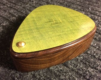Handmade Guitar Pick Shaped Box