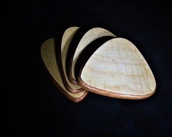 Guitar Pick Shaped Beverage Coasters