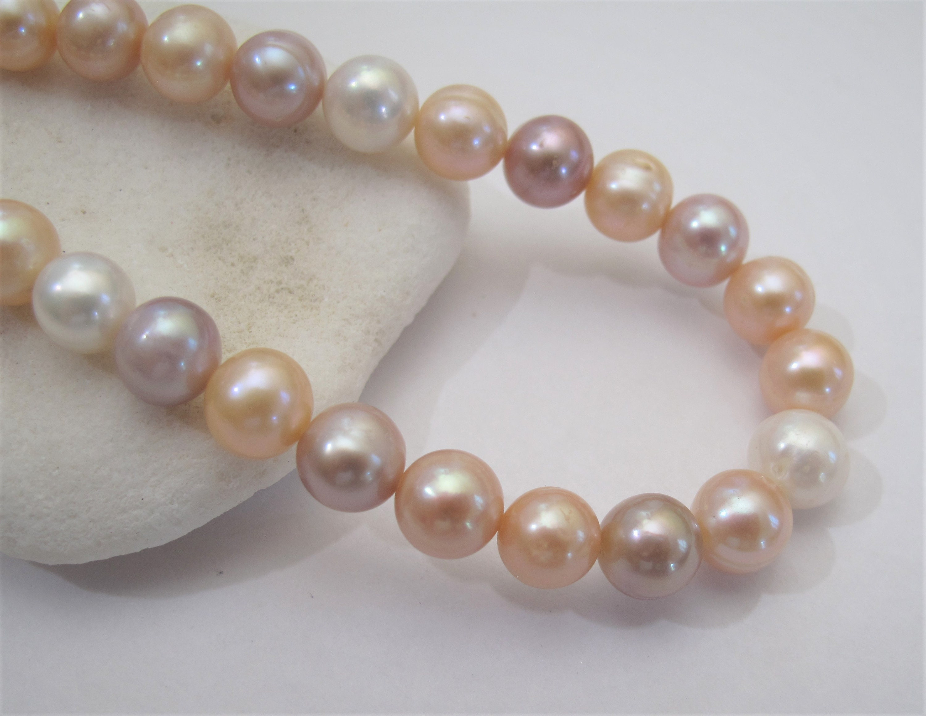 varitions  baroque freshwater pearl loose beads 7-8mm jewelry marking supply