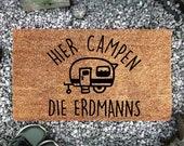 Funny doormat, camping doormat, doormat for camping lovers
