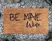 Be Wine doormat doormat coconut mat personalized