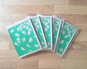 Fallen Leaves Cards