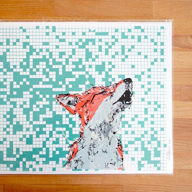 Howl Screen Print image 0