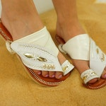 """Women's SandCruisers """"slim-fit"""" handmade leather sandals Traditional Arabian sandals perfect for outdoors, pools, beaches, lakes, Earthing"""