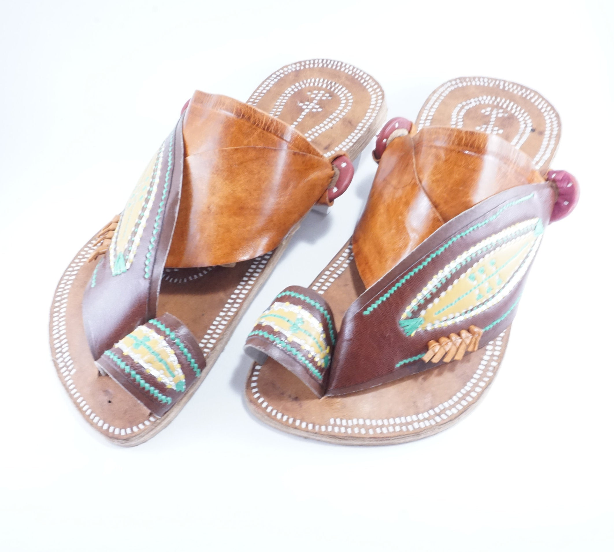 Traditional high quality handmade leather sandal by