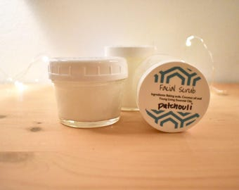 Face Scrub with essential oils