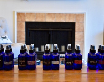 Room Spray with essential oils