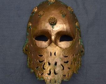 Brass Sentinel Mask