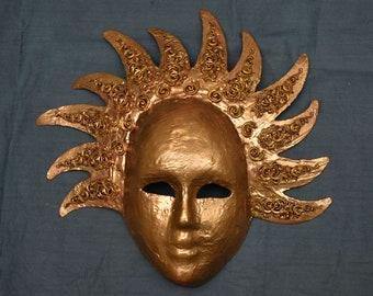 Sun King Mask