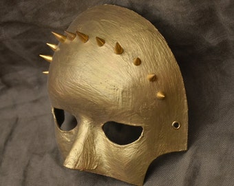 Bronze Spiked Mask