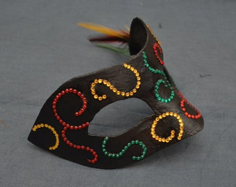 Crystal Swirl Mask