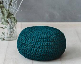 Kids Pouf * Crochet Pouf * Pouf seating * Pouf Ottoman * Nursery Decor * Kids Room Decor * Floor Cushion * Kids Furniture * Pouffe * Pillow
