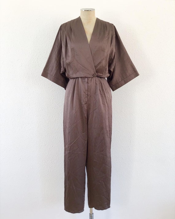 1980s electric brown romper, 1980s Brown romper, 8