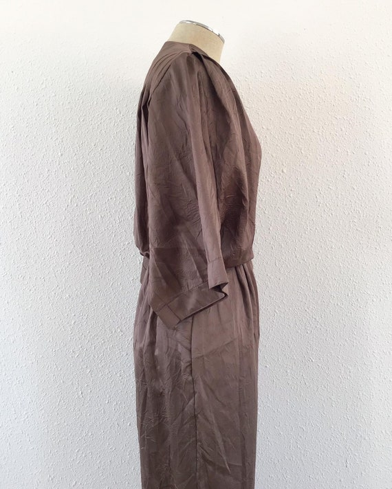 1980s electric brown romper, 1980s Brown romper, … - image 5