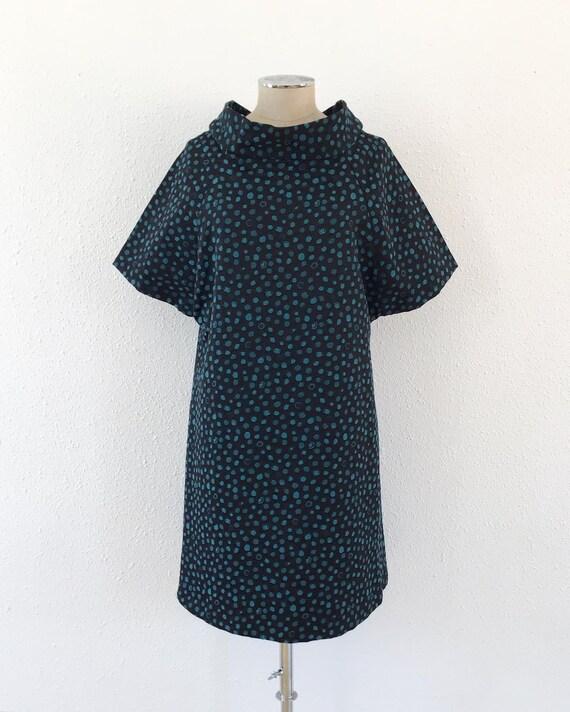 Vintage midi black dress, Black dress, Vintage bla