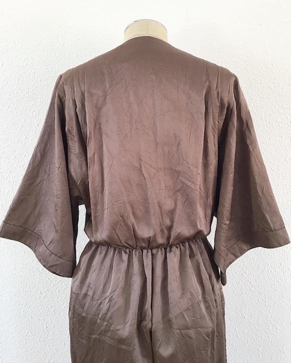 1980s electric brown romper, 1980s Brown romper, … - image 8