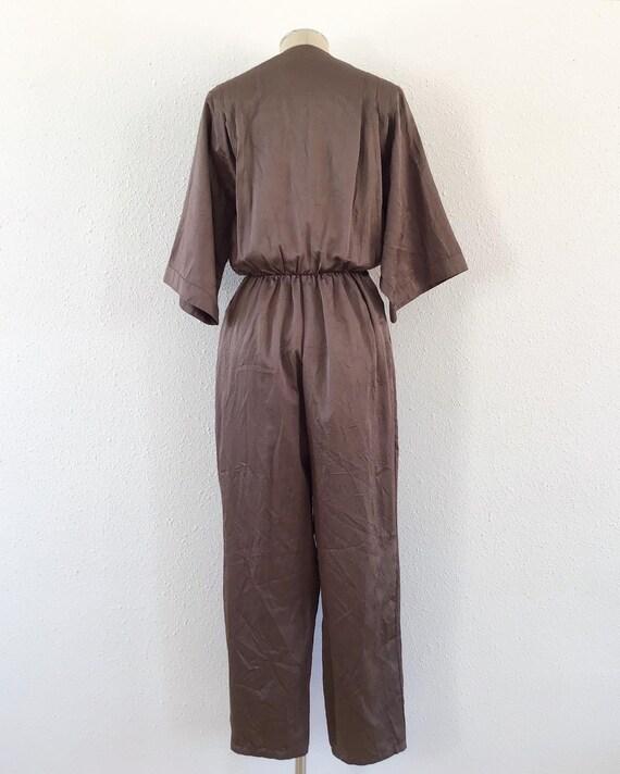 1980s electric brown romper, 1980s Brown romper, … - image 9