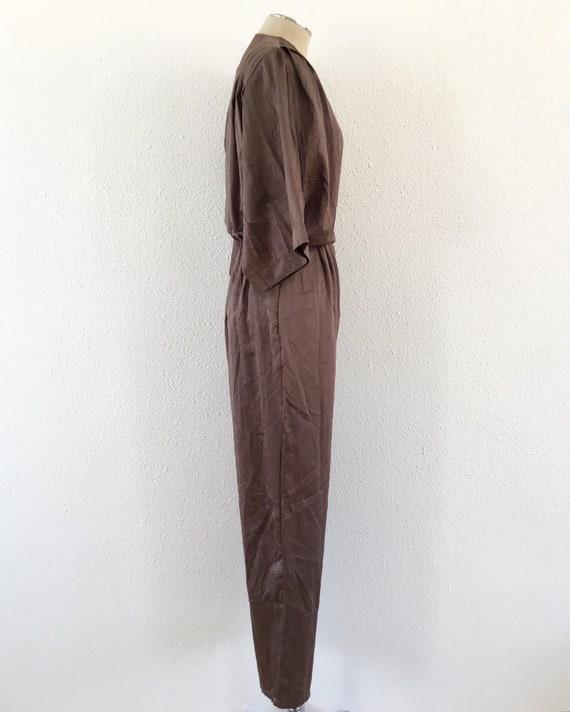 1980s electric brown romper, 1980s Brown romper, … - image 4