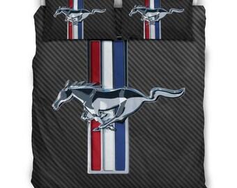 Mustang Quilt Etsy