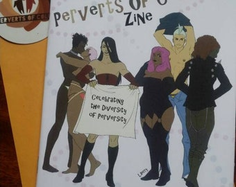 Perverts of Color Zine - Issue #2, April 2018, Glossy Print 5.5 x 8 in