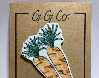 """Pin - """"Carrots"""" - Original Sketch"""