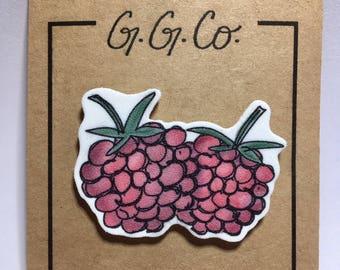 """Pin - """"Raspberries"""" - Original Sketch"""