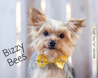 Bizzy Bees Bow Tie