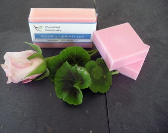 Classic Rose and Geranium Soap