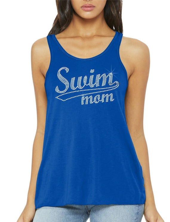 Next Level Ladies/' Triblend Long-Sleeve Scoop ndk1331 Swim Mom