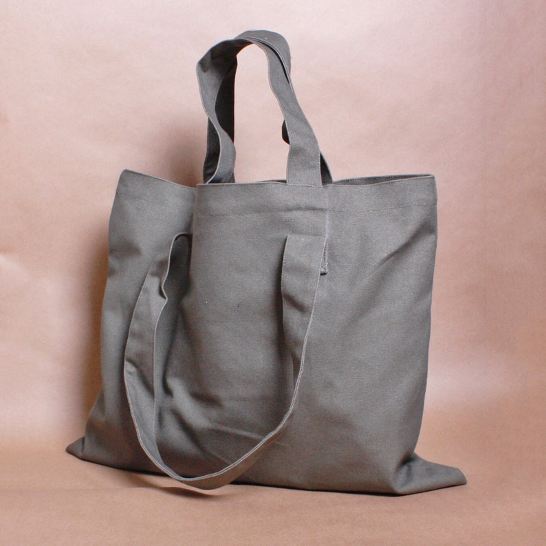 1451768bef8 Extra large flat tote bag   double handles bag  shopping bag