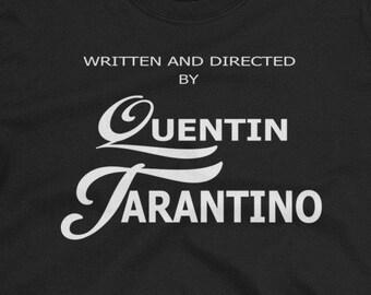 c6f44d21 Written and Directed By T-shirt, Screenwriter Director Tee, Gift For  Artist,Tarantino Clothing Movie Tshirt, Tarantino Shirt, Summer Top