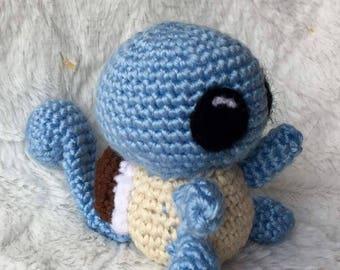 Squirtle  Crochet Amigurumi