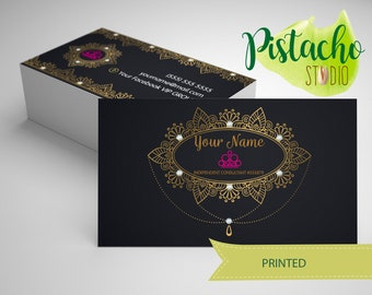 Paparazzi Business card- Jewelry Consultant – Accesories- Luxurious princesses business card- Custom printed business card-