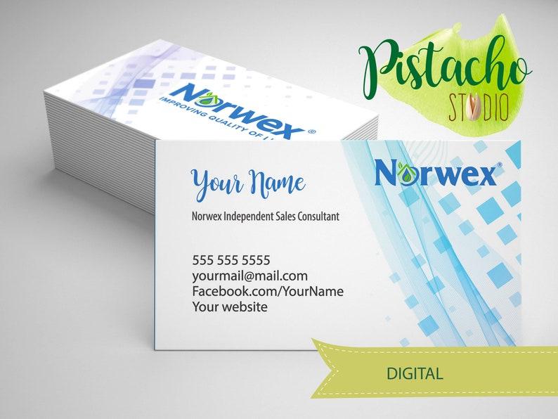 Norwex Nettoyage Produits Independant Consultant Vente Carte