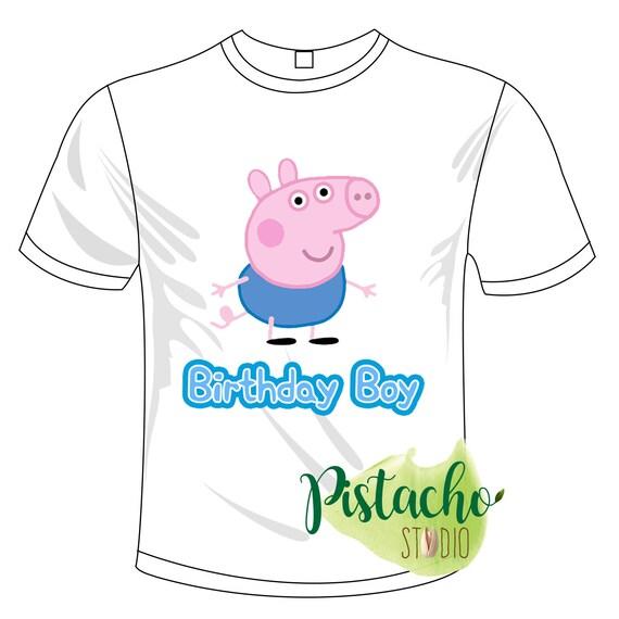 Peppa Pig Boys George Pig T-Shirt