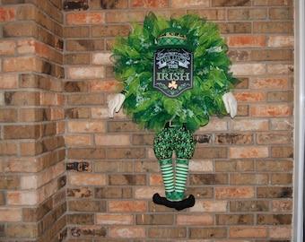 St. Patricks Day Wreath ( reef )