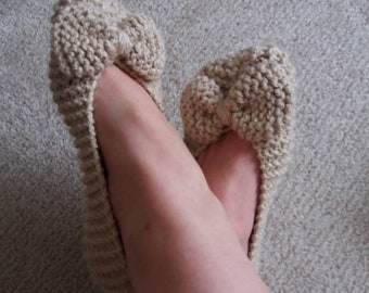 Knit Slippers Pattern, PDF Slippers, Indoor Shoes Pattern, House Shoes, Soft Summer Slippers, House Knit Shoes, Shoes for Home, House Socks