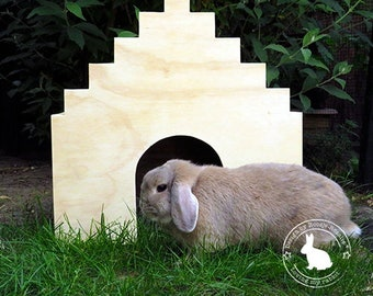 Trapgevel Cottage for your rabbit