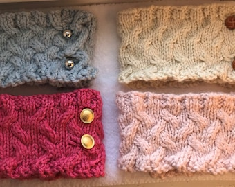 Classic Cabled Cowls