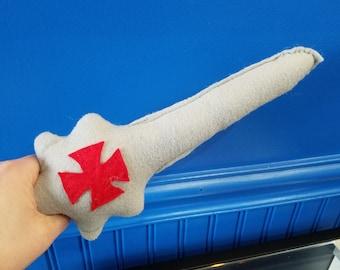 Handmade Kitty Kicker Sword of Power w/Catnip cat toy