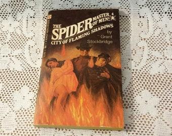 The Spider Master of Men #4 Vintage Book