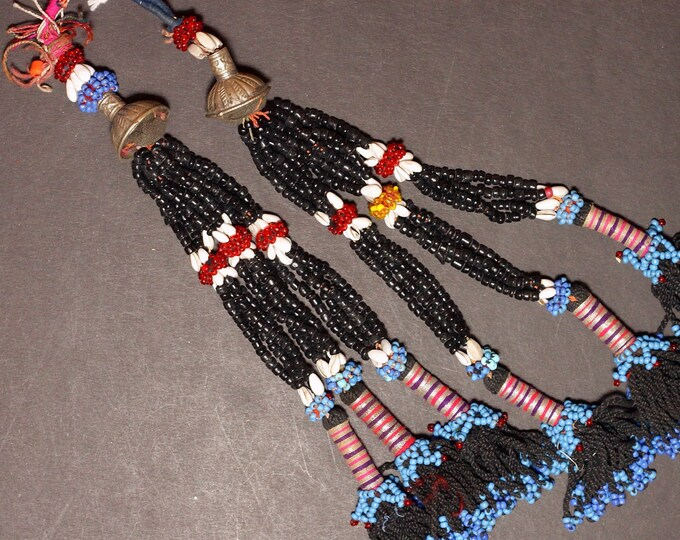 Turkman Tribal DANGLES Bellydance ATS Kuchi Turkoman 622r1
