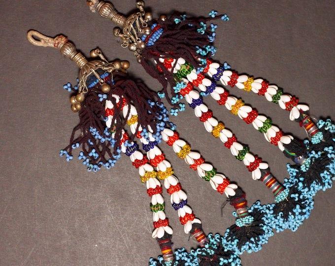 Turkman Tribal DANGLES Bellydance ATS Kuchi Turkoman 622r2