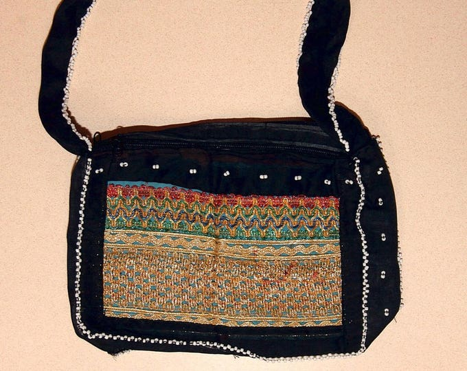 HANDBAG Kuchi Tribal Hobo BellyDance ATS Costume Handmade Kuchi Tribe 765d10