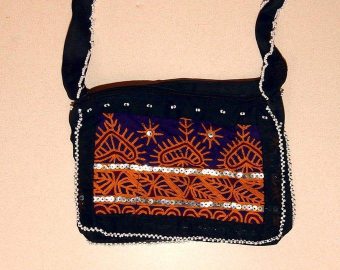 HANDBAG Kuchi Tribal Hobo BellyDance ATS Costume Handmade Kuchi Tribe 765f4