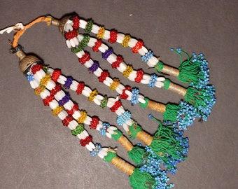Turkman Tribal DANGLES Bellydance ATS Kuchi Turkoman 622s1
