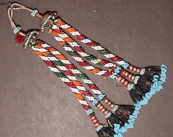 Turkman Tribal DANGLES Bellydance ATS Kuchi Turkoman 622s2