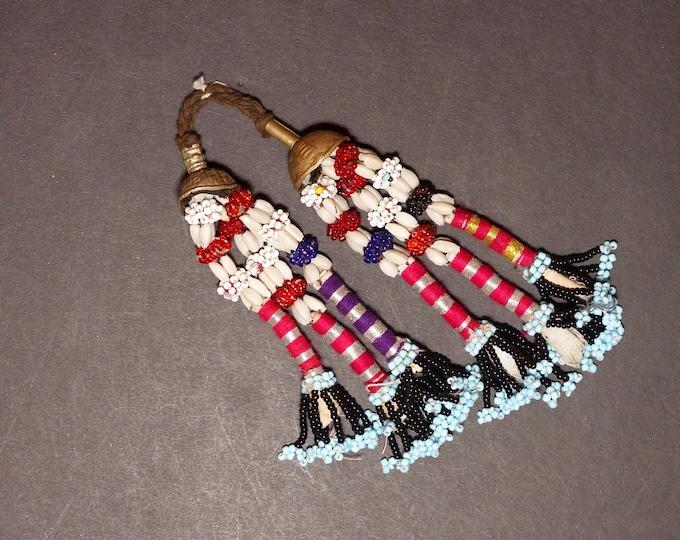 Turkman Tribal DANGLES Bellydance ATS Kuchi Turkoman 622q7