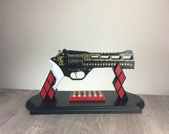 Harley Quin Gun   Harley Quinn Cosplay   3D Printed Movie Accurate Prop   DIY Kit   Chiappa Rhino
