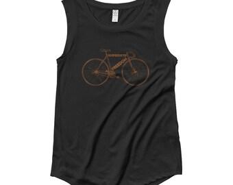 Retro 10 speed bike Ladies' Cap Sleeve T-Shirt